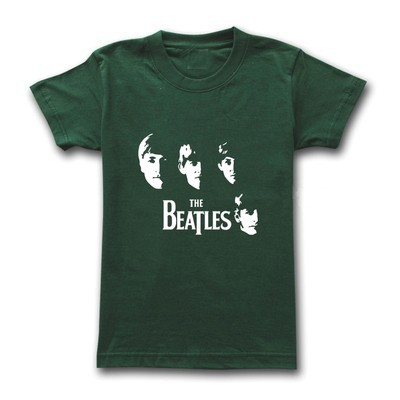 men's beatles short sleeve high quality t shirt