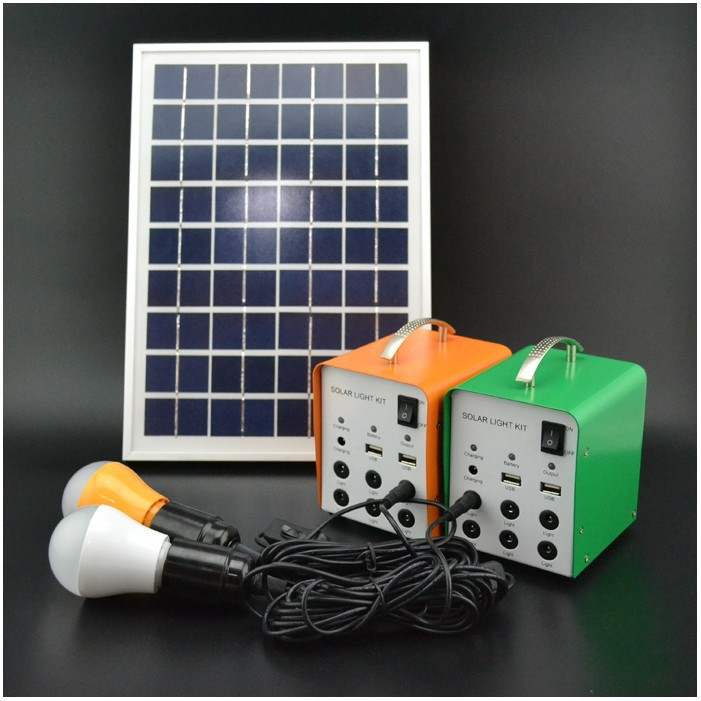 Portable 5w residential solar electric with mobile charger
