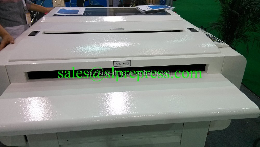 computer to plate printing machinery paper plate machine using for UV CTP CTCP Conventional plates ctp processors machine