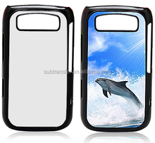 import china subimation 2D blank plastic phone cover for Blackberry 9700