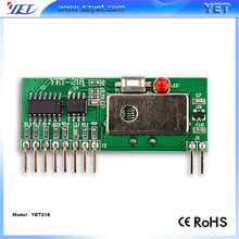 Hot sale IC PT2262/2272 315Mhz smart car Key Wireless Control Kits Receiver module YET218