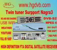 az america s930a digital tv receiver Two Tuner HD Nagra 3 Amazonas Satellite TV Receiver Free Sks and Iks Account