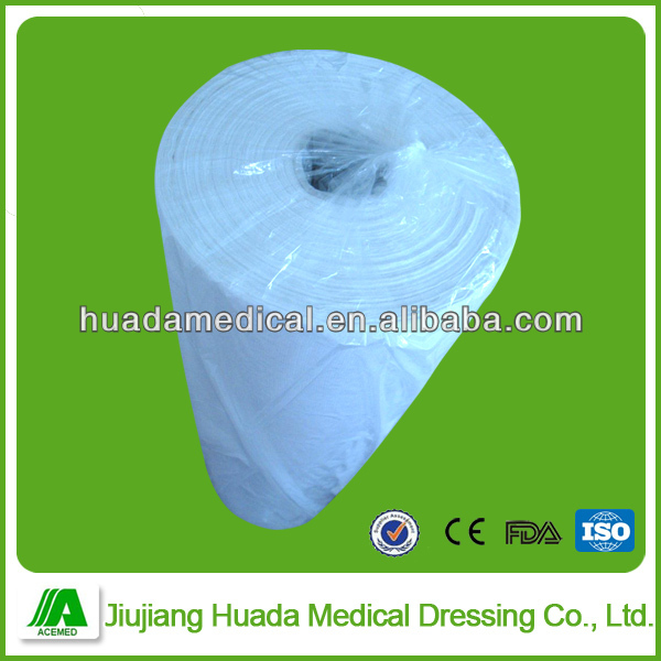 90cm x 100m Cotton Gauze Roll/100% Bleached Cotton Absorbent  Gauze roll