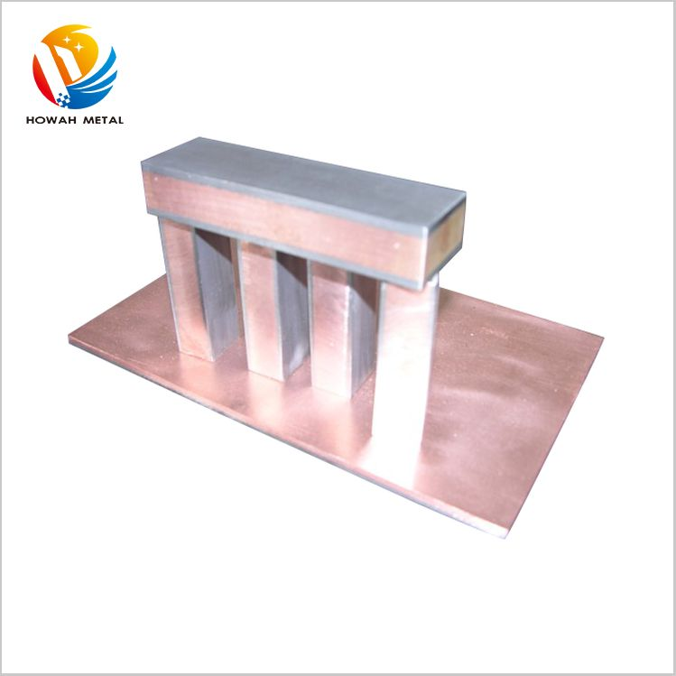 Most popular environmental titanium clad copper sheet