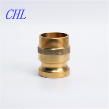 type F brass cam and groove fitting