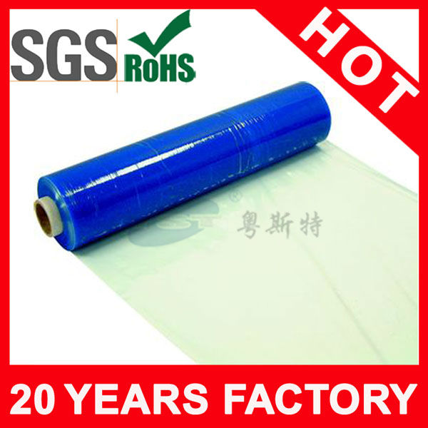 Casting Hand roll Blue Pallet Stretch Film Made In China