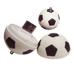 Soccer Ball Shape USB