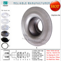 made in china TK6310 belt conveyor roller blind with maze seals
