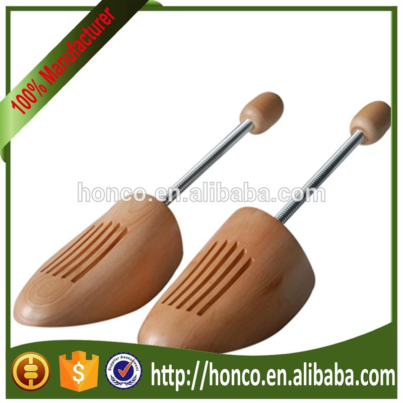 Higher quality spring cedar wood shoe tree
