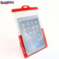 Brace design Panel computer waterproof case for ipad pro 12.9