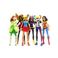 custom injection Super Hero Girls figures toy for kids