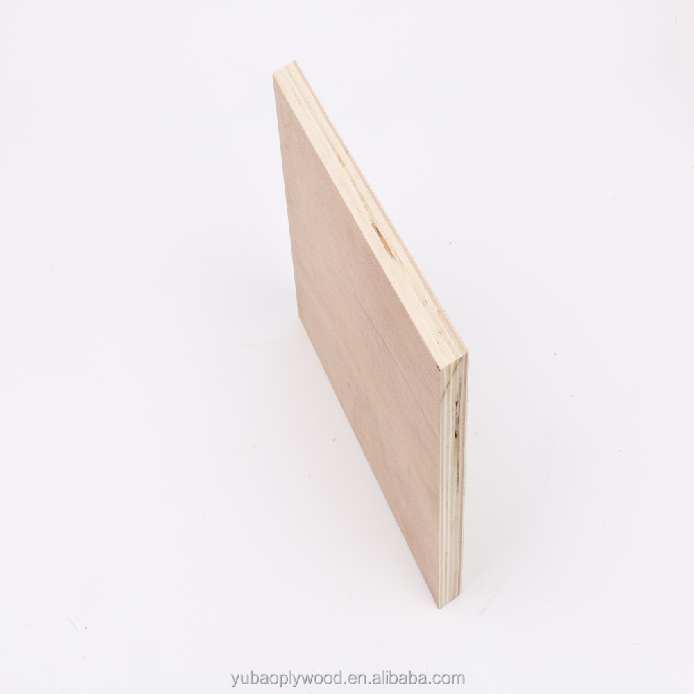 yubao brand construction & real estate plastic grooved plywood