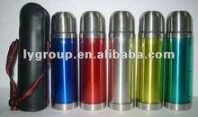500ml 18/8 Stainless Steel thermos with acrylic cover
