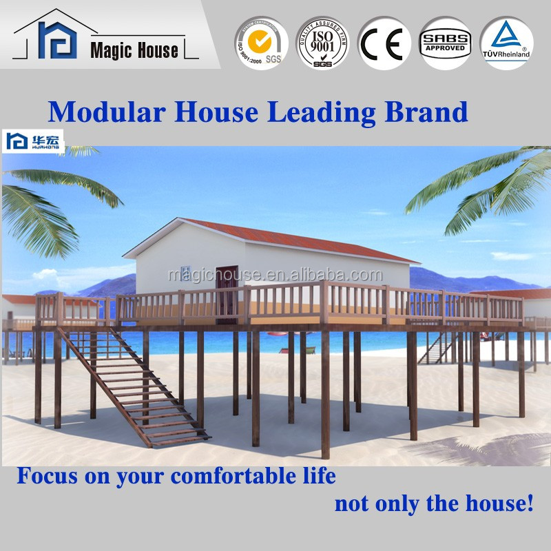 Shandong Magic Modular Housing prefab low cost canadian prefabricated wood house