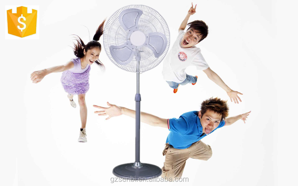 Electronic oscillation 18 inch industrial metal stand fan