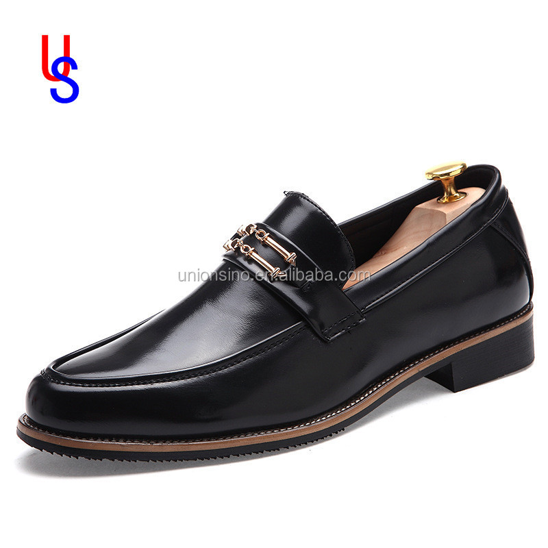 comfortable custom cowskin leather shoes for men loafers