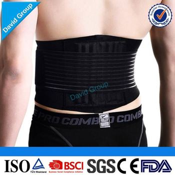 Top Supplier Wholesale Custom Waist Support Belt For Back Brace