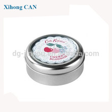 on sale customized metal material cosmetic tin case