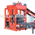 2018 Hot sale semi-automatic cement brick making machine