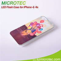 Sublimation LED Flash Case for iPhone4