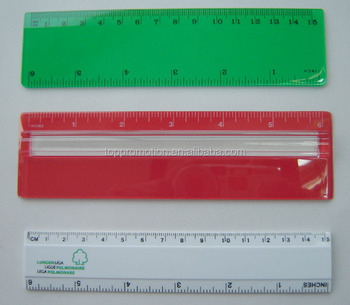 "HEYU 30 cm 15cm 6"" 12"" plastic school ruler for promotion"