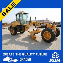 Small grader 120hp grader farm rear ripper Road construction equipments/used earth moving equipment/land leveling equipment