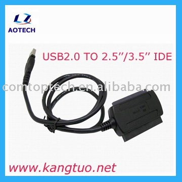 2.5''/3.5'' IDE TO USB2.0 Adapter,usb ide adapter converter