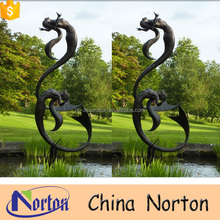 Garden decoration big bronze statues women abstract NTBH-S900A