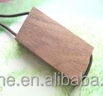 wooden carbonized walnut rectangle shaped USB Flash Drive