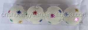 Snow White Bauble Decorations/Christmas Decoration/Hanging Decorative Ornaments