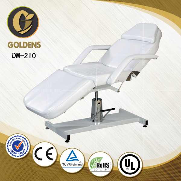hydraulic massage table/bed//used facial bed sale sheets size cover