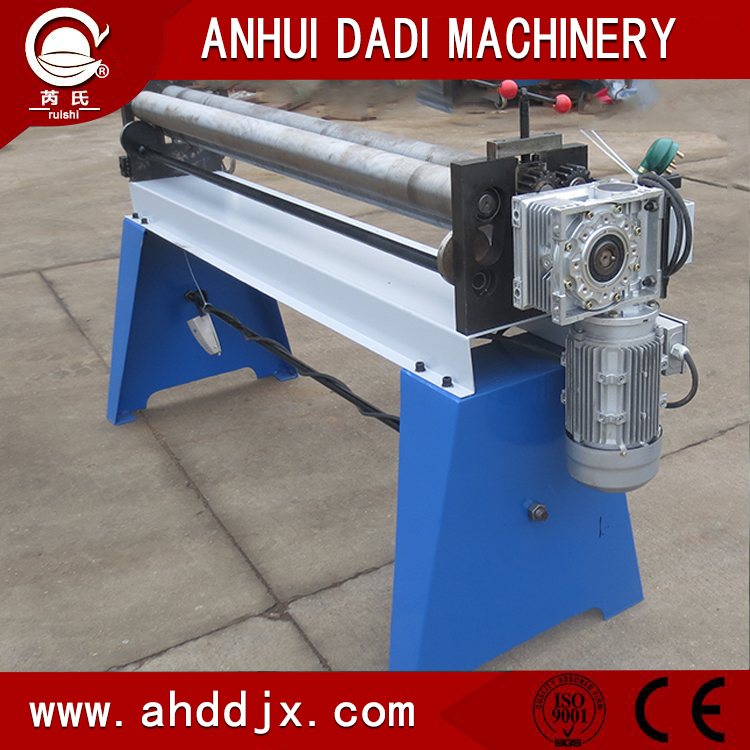 3 roller plate bending machine with factory price