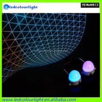 30mm 50mm diameter video show dmx led rgb pixel dot digital led pixel light