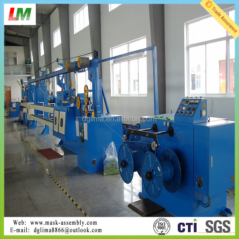 Teflon high temperature wire and cable extusion machine