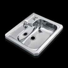 Sanitary Ware Stainless Steel Hospital Sink Fashion Square Hand Wash Basin Popular Modern Sink