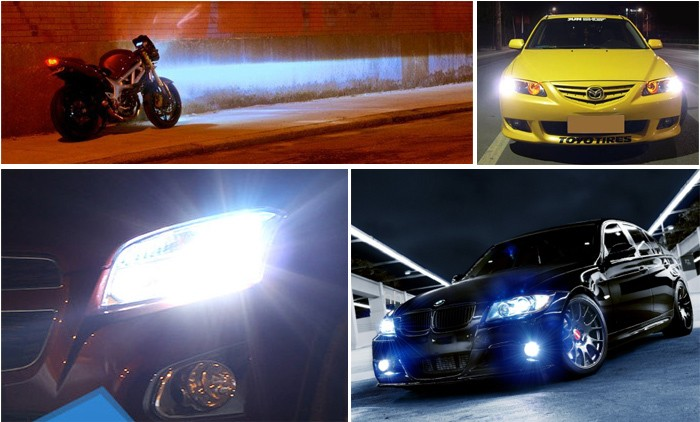 Bright C6 H7 led head light for cars