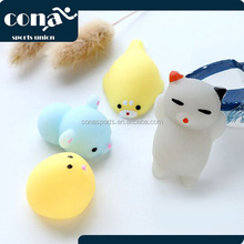 Cute Animal Squeeze squishy Hand Toy Kids Gift Colorful Seals Stress Pressure Vent Decompression Toy