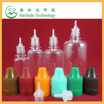 10ml Pet Plastic Dropper Bottle for Eliquid/E-Cigarette with Childproof Cap