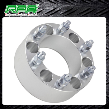 Car Accessories Aluminum Auto Spare Parts 50mm 6x5 5 To 6 X 5 5 Wheel Spacers Adapters 14x1 5