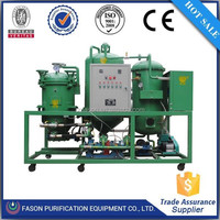 Model DTS energy saving waste oil treatment machine