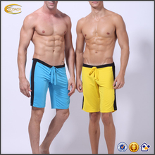 Ecoach free shipping 80%cotton 20%polyester jersey elastic waist custom wholesale basketball Athletic sports shorts for men