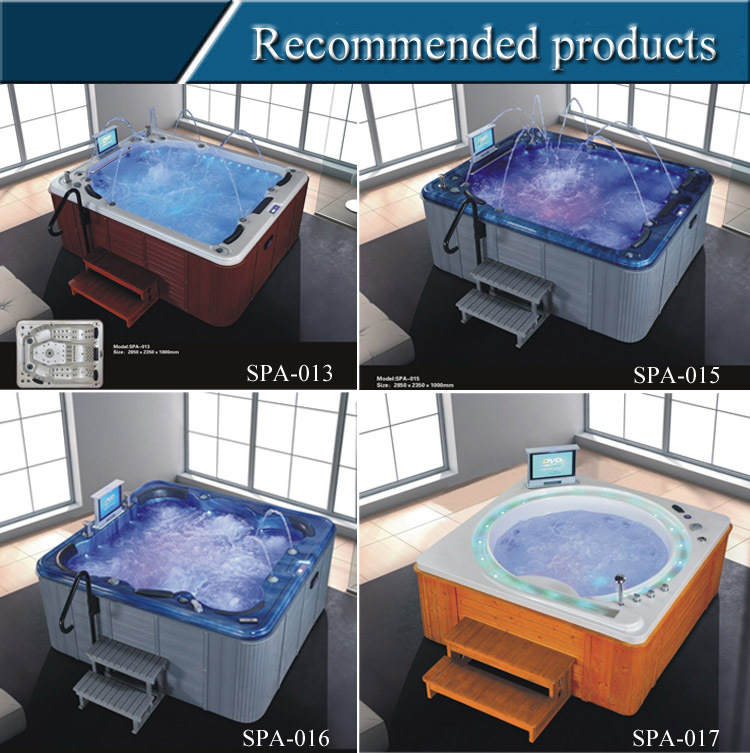 SPA-H01 aqua hot tub spa/ home spa personal whirlpool/ indoor whirlpool spas