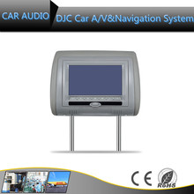 9 inch Auto Electronics Headrest DVD Player android Car Headrest monitor DVD with Wifi, Bluetooth, SD,USB