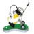 Novelty Custom Logo Painting Desktop Mini Golf Pen And Pen Holder With Green Lawn On Sale