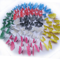 12 pcs butterflies Home Decor Sticker Art Design Decal Wall Stickers Room Decorations 3D Butterfly