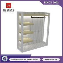 Best selling high quality wooden clothes hanger display racks