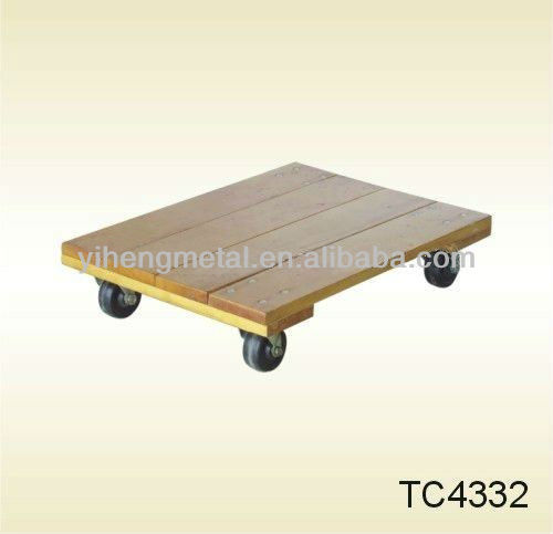 Heavy duty powerful wooden Moving Dolly TC4332