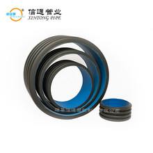 agricultural culvert underground recycled plastic drainage pipe