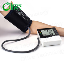 OLV-B01 digital arm talking blood pressure monitor/meter with charge measurement