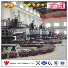 High Quality China Casting Industry Zinc Melting Power frequency cored induction furnace